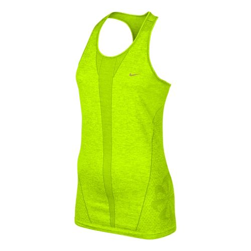 Womens Nike Seamless Tank Technical Tops - Electra L