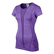 Womens Nike Seamless Short Sleeve Technical Tops