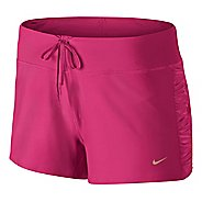 Womens Nike Knit Running Lined Shorts
