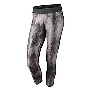 Womens Nike Relay Print Capri Tights