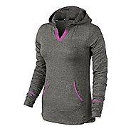 Womens Nike Element Hoodie Long Sleeve No Zip Technical Tops