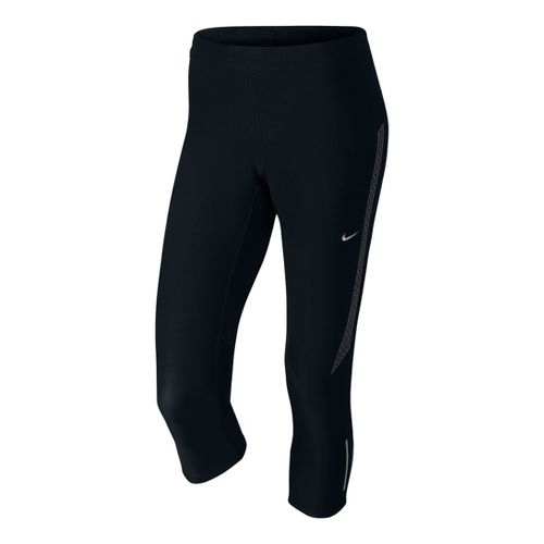 Womens Nike Tech 2 Capri Tights - Black M