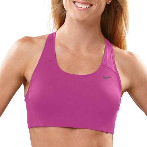 Womens Nike High Compression Sports Bra - Dark Pink L