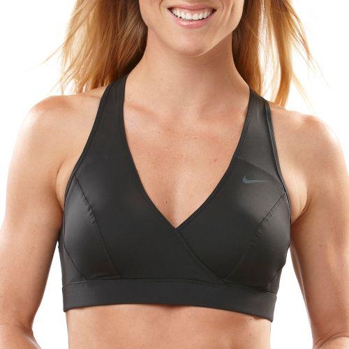 Womens Nike Define Bra (A/B) Sports Bra - Black XS