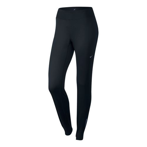 Womens Nike Thermal Cold weather Pants - Black L