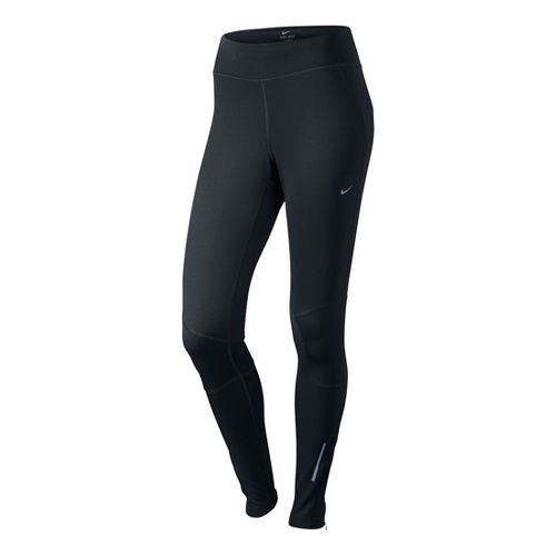 Womens Nike Thermal Fitted Tights - Black M