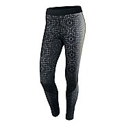 Womens Nike Pro Printed Hyperwarm 2 Fitted Tights