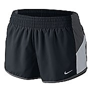 Womens Nike Racer Lined Shorts - Black/Dark Grey XL