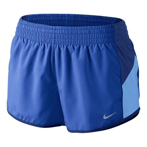 Womens Nike Racer Lined Shorts - Cobalt L