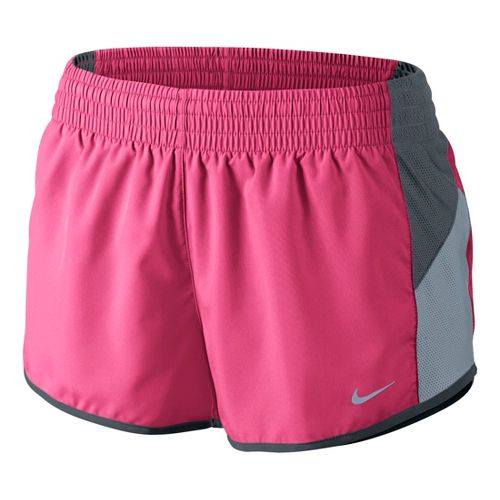 Womens Nike Racer Lined Shorts - Pink Shock XL