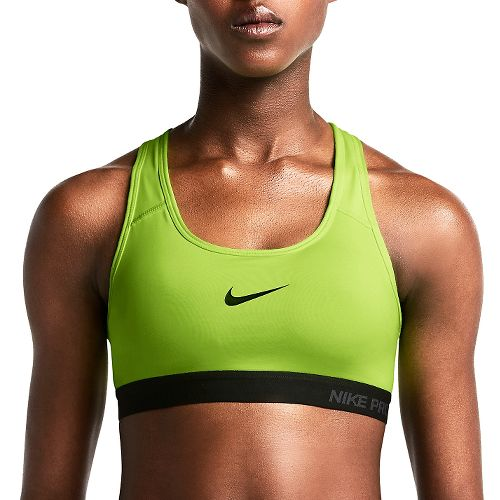 Womens Nike Pro Padded Sports Bra - Volt XL