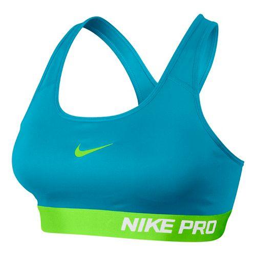 Womens Nike Pro Padded Sports Bra - Lake Blue S