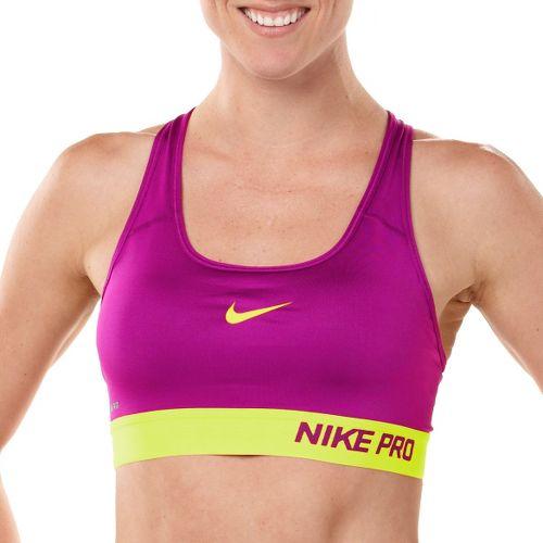 Womens Nike Pro Padded Sports Bra - Heather Grey XS
