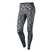 Womens Nike RU W AOP Legging Fitted Tights