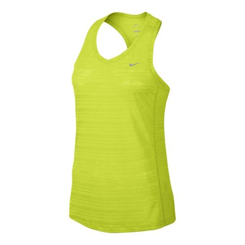 Womens Nike Breeze Tank Technical Tops - Electra M