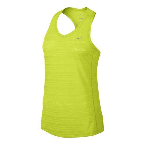Womens Nike Breeze Tank Technical Tops - Electra XL