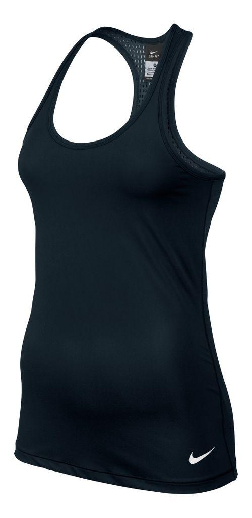 Womens Nike Pro Hypercool Tank Technical Tops - Black XL