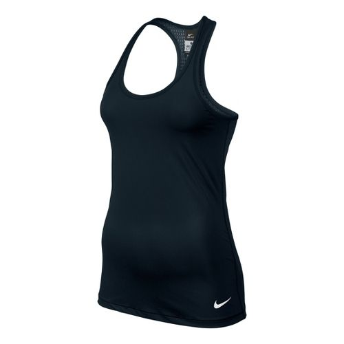 Womens Nike Pro Hypercool Tank Technical Tops - Black S