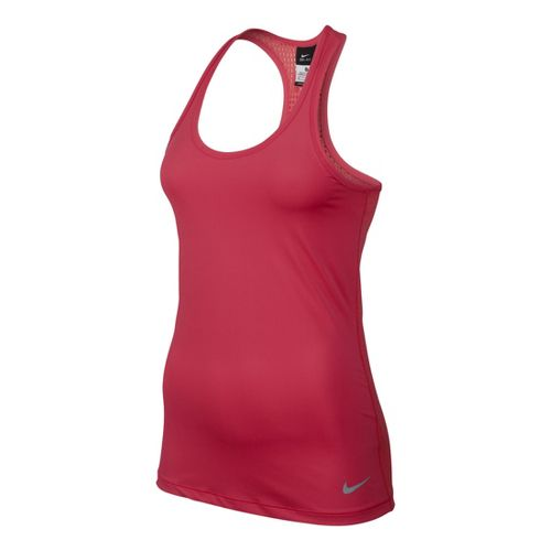 Womens Nike Pro Hypercool Tank Technical Tops - Laser Red L