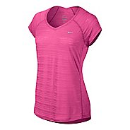 Womens Nike Breeze Short Sleeve Technical Tops