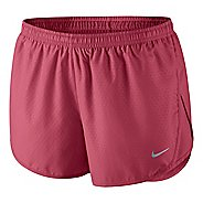Womens Nike Mod Tempo Emboss Run Lined Shorts - Chili Red XL