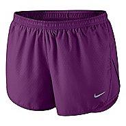 Womens Nike Mod Tempo Emboss Run Lined Shorts - Grape XL