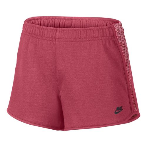Womens Nike RU Sunset Unlined Shorts - Cherry XL