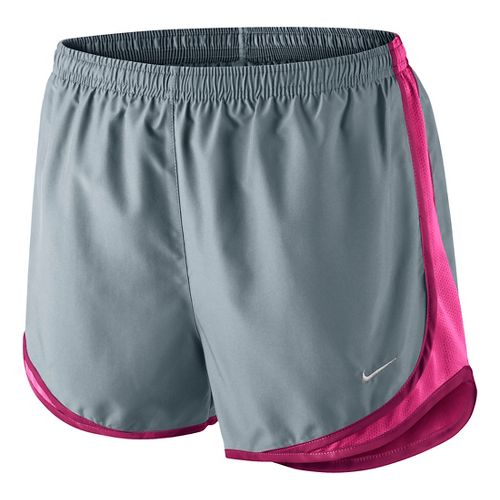 Womens Nike Tempo Lined Shorts - Grey/Bright Pink L