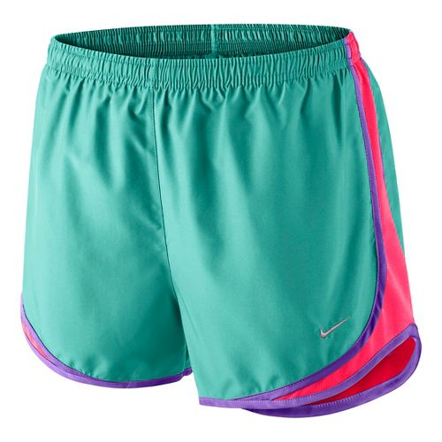 Womens Nike Tempo Lined Shorts - Turquoise XS