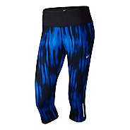 Womens Nike Printed Epic Run Capri Tights