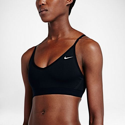 Womens Nike Pro Indy Sports Bra - Black L