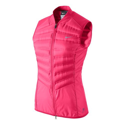 Womens Nike Aeroloft 800 Running Vests - Fruit Punch L