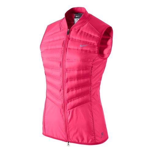 Womens Nike Aeroloft 800 Running Vests - Fruit Punch S