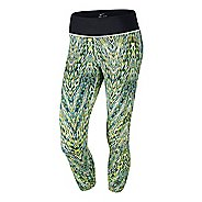 Womens Nike Printed Epic Run Crop Capri Tights