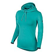 Womens Nike Pro Hyperwarm Hoodie Long Sleeve No Zip Technical Tops