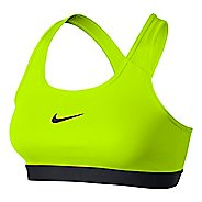 Womens Nike Pro Classic Sports Bra - Volt XL