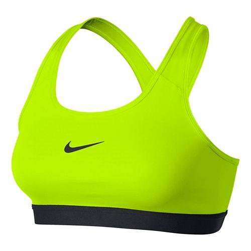 Womens Nike Pro Classic Sports Bra - Volt M