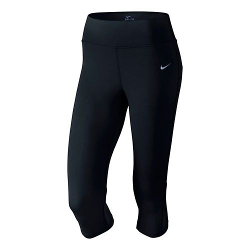 Womens Nike Epic Lux Capri Tights - Black XL