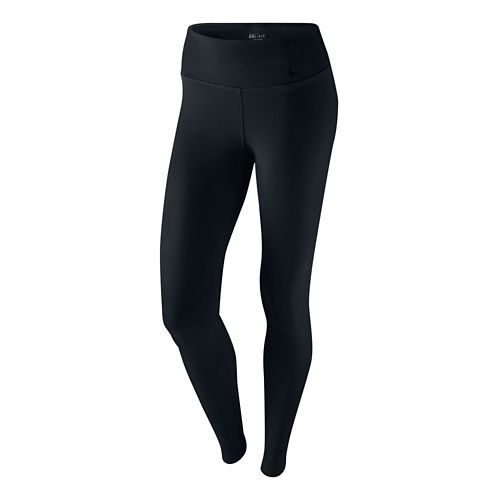 Womens Nike Legendary Pant Fitted Tights - Black L