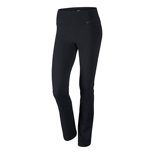 Womens Nike Legendary Skinny Full Length Pants - Black XL