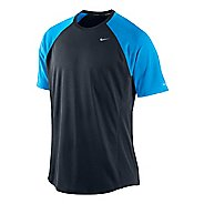 Mens Nike Miler UV Short Sleeve Technical Tops