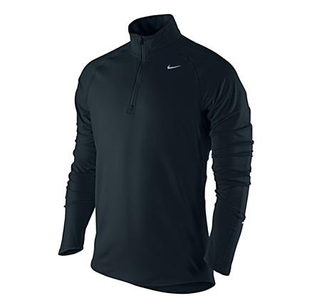 Mens Nike Element Half Zip Long Sleeve Technical Tops