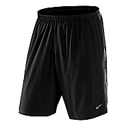 "Mens Nike 9"" SW Running Lined Shorts"