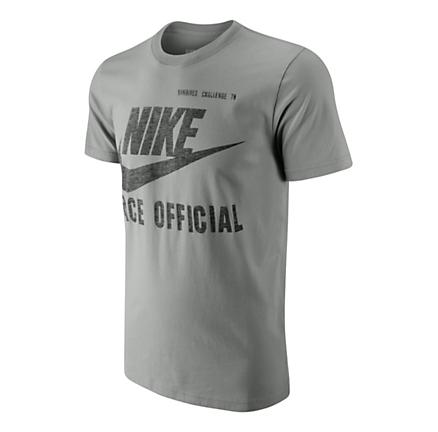 Mens Nike Race Official Tee Short Sleeve Non-Technical Tops
