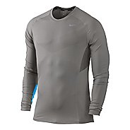 Mens Nike Speed Long Sleeve No Zip Technical Tops