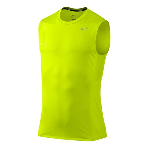 Mens Nike Swift Muscle Top Sleeveless Technical Tops - Electra M