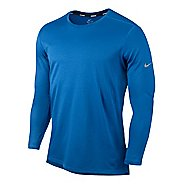 Mens Nike Wool Crew Long Sleeve No Zip Technical Tops