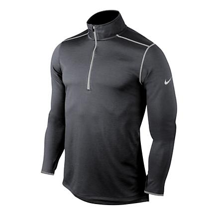 Mens Nike Wool Long Sleeve 1/2 Zip Technical Tops