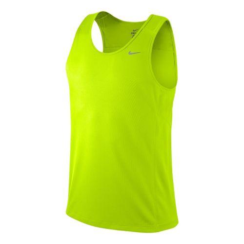 Mens Nike Miler Singlet II Technical Tops - Electra XL