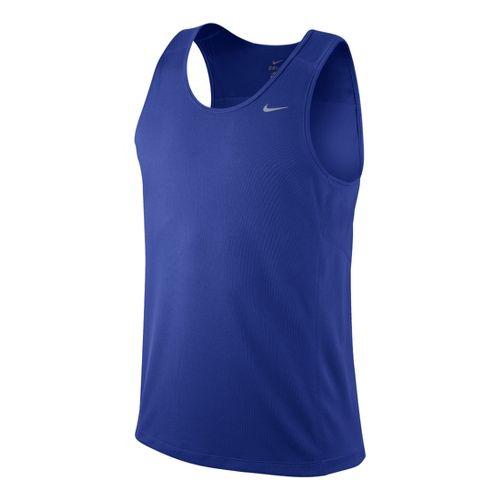 Mens Nike Miler Singlet II Technical Tops - Hyper Blue S